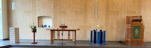 Openings kerkdienst o.l.v. ds Antje van der Hoek en ds Reinhold Philipp